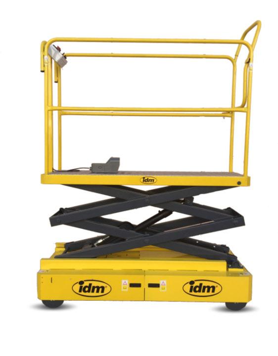 Maquinaria para invernaderos tubo rail - IDM