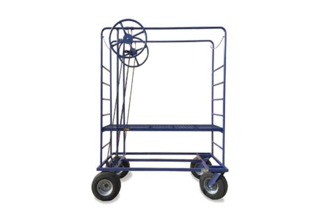 plataforma manual con volantes - IDM